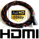 HDMI Cable NEW 6ft Long For PS4, XBOX ONE, Blu DVD Ray Players, TV, Home Theater