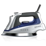 Black And Decker 220-240 Volt 2000W Steam Iron (NON-US) 220V For Overseas Only