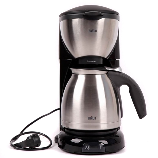 Braun KF610 220 Volt Coffee Maker with Stainless Steel Jug