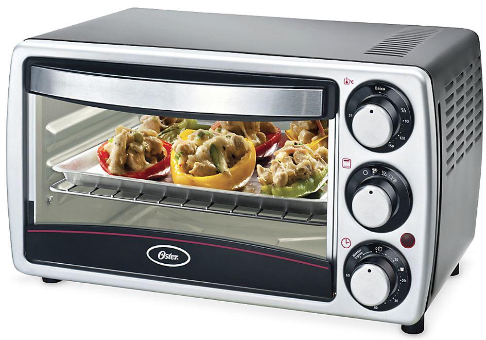 Oster TSSTTV7052 220 Volt 4 Slice Toaster Oven