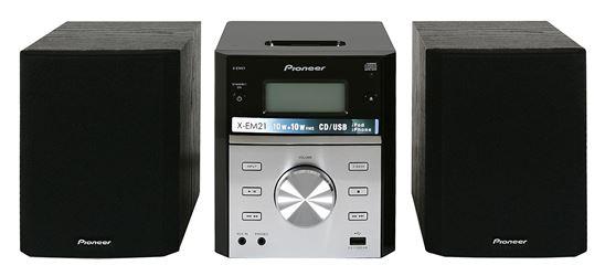 Pioneer X Em21v 220 Volt Dvd Amp Cd Micro Stereo W Ipod Dock