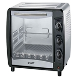 Sharp 220 Volt Large 35L Toaster Oven (NOT FOR USA) for Asia Europe Africa
