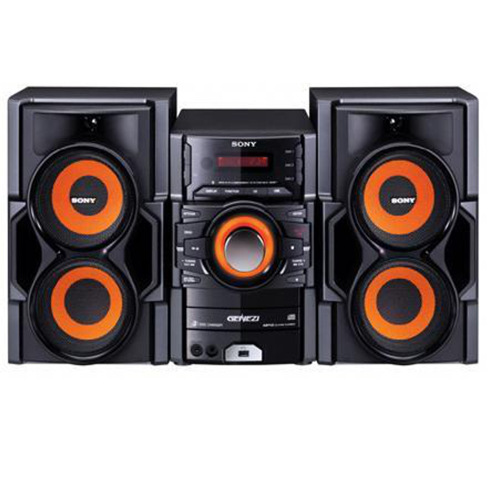 sony mhc ex8t 3 cd dual voltage stereo system w mp3 usb. Black Bedroom Furniture Sets. Home Design Ideas