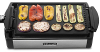 Delonghi NEW 220v Grill & Griddle w/Temp Control 220/240 Volt for Europe/Asia