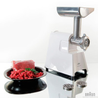 Braun G1300 220 Volt Meat Grinder Mincer 1300 Watt 220v Euro Power Cord