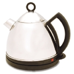 Alpina NEW 220V Stainless Steel 1.5L Cordless Kettle 220 Volt Euro Voltage