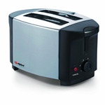 Alpina NEW 220v Stainless Steel 2-Slice Toaster Europe Asia Africa 220 240 Volt