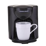 Black And Decker 220 Volt 1-Cup Coffeemaker (NOT FOR USA) Europe Asia UK Africa