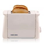 Black And Decker TL2400 220 Volts 2-Slice Toaster For Overseas Use NON-USA