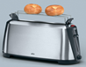 Braun New 220 Volt 2-Slice Toaster 220v Bun Warming Rack HT450 220/240V