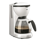 Braun 220 Volt CafeHouse Pure Aroma KF 520 10 Cups Coffee Maker (NON-USA Model)