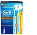 Braun D16.523 Oral-B 220V Electric Toothbrush w/2 Heads & 2 Toothbrushes