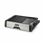 Delonghi BG500C 220 Volt Grill & Griddle with Temp Control For Export Overseas Use Only