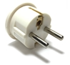European Schuko Plug With Grounding SS-409 European plug adapter,adapter plug,adaptor,plug SS-409, sevenstar,socket,universal plug,adapters,germany,europe,asia,africa,india,uk,universal adapters,220 plug,220v adapter,220 volt adapter,220 adaptor