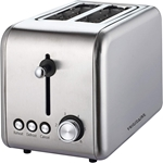 Frigidaire FD3112 220 Volt 2-Slice Toaster Stainless steel, Removable Crumb Tray, Defrost and Browning Functions FRIGIDAIRE FD3112, FD3112, 220-240V, 220-240 VOLT, TOASTER FOR EXPORT, OVEN FOR EXPORT, TOASTER FOR EXPORT, TOASTER FOR OVERSEAS, TOASTER OVEN FOR OVERSEAS, INTERNATIONAL TOASTER OVEN