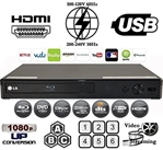 LG BP550 Multi System All Zone Region Free 3D Blu Ray DVD Player