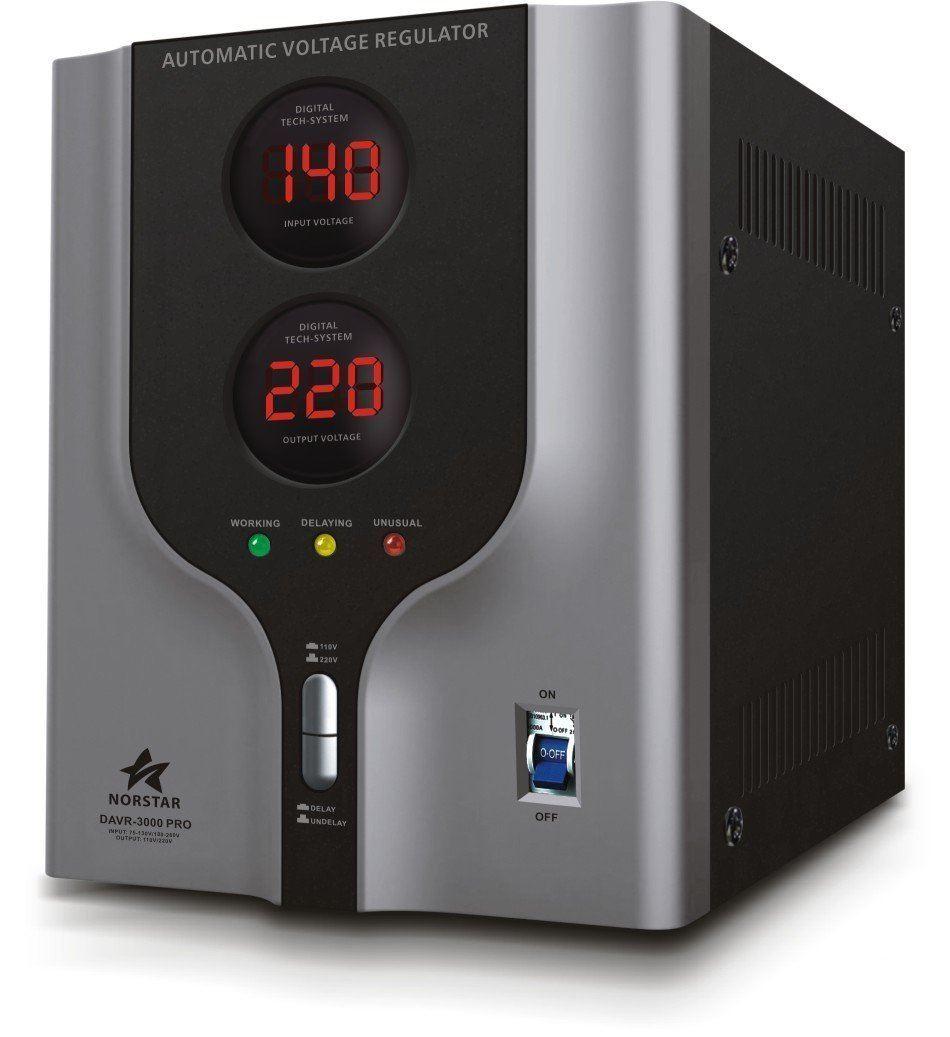 Norstar DAVR-5000 Watt Voltage Converter & Stabilizer 110V/120 220V ...