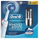 Oral-B D20.533.2HX Professional Care 2000 Rechargeable Toothbrush 2 Pack 110 Volt USA USE