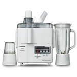 Panasonic 220V 3-In-1 Juicer Blender Grinder 220 Volt