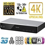 Panasonic DMP-BDT270 4K Upscaling All Zone Region Free 3D Blu Ray DVD Player