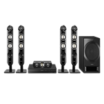 Panasonic SC-XH333 5.1 Channel Home Theater System 110V-220 Volt WORDLWIDE USE