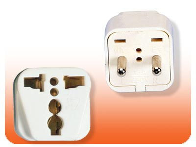 SS-411 Asian European Style Universal Plug Adapter European plug adapter,adapter plug,adaptor,SS411 plug,socket,universal plug,adapters,FRANCE,europe,asia,africa,india,uk,universal adapters,220 plug,220v adapter,220 volt adapter,220 adaptor