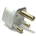 SS-415SA South Africa Universal Grounded Plug Adapter plug adapter,adapter plug,adaptor,ss415sa,plug socket,universal plug,adapters,south africa,europe,asia,africa,india,uk,universal adapters,220 plug,220v adapter,220 volt adapter,220 adaptor
