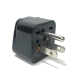 SS-417 Universal to American Grounded Plug Adapter Black USA plug adapter,US adapter plug,adaptor,SS-417,plug socket,universal plug,adapters,US,USA,America,europe,asia,africa,india,uk,universal adapters,220 plug,220v adapter,220 volt adapter,220 adaptor