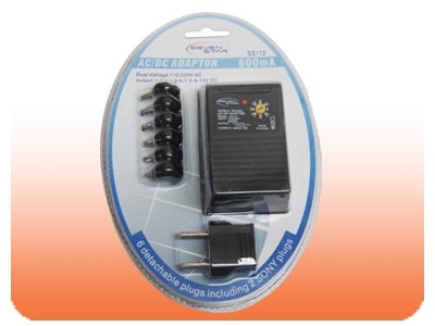 World Travel AC To DC Power Adapter - SS112