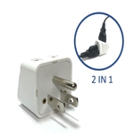 SS717 Universal to USA Grounded Plug Adapter USA plug adapter,US adapter plug,adaptor,SS-417,plug socket,universal plug,adapters,US,USA,America,europe,asia,africa,india,uk,universal adapters,220 plug,220v adapter,220 volt adapter,220 adaptor