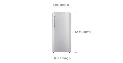 Samsung Rr2115ccasa Single Door Stylish Refrigerator 220 Volt