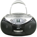 Sanyo NEW CD Tape Cassette Radio Boombox AM FM Radio MP3 220V