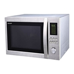 Sharp 220 Volt 43L Large Combination Microwave Oven with GRILL 220v 240v 50Hz