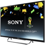 Sony KDL-40W600 KDL40W600 LED LCD SMART TV TELEVISION HDMI RCA WIFI WIRELESS INTERNET 110 220 240 DUAL VOLTAGE PAL NTSC SECAM