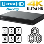 Sony UBP-X800 Ultra HD Blu-ray Player Region Code Free PAL NTSC