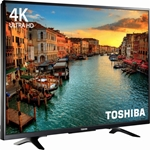 "Toshiba 50"" Class 4K LED TV 2160p with Chromecast Built-in 4K Ultra HDTV"