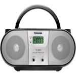 TOSHIBA TX-CRM10D TXCRM10D TX-CRM 10 D NEW CD Radio Boombox PORTABLE AM FM Radio MP3 220V 220-240V 220V 230V FOR OVERSEAS ONLY TRAVEL C SIZE BATTERY