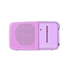 Toshiba TX-PR20 AM/FM Pocket Portable Battery Operated Radio Pink