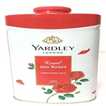Yardley London Perfumed Talc Royal Red Roses Talcum Powder 8.8 Oz (250 G)