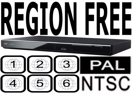 Panasonic - Panasonic Region Code Free Player Plays DVD from